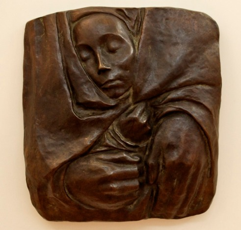 In the Hands of God-Kollwitz