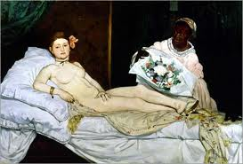 Olympia by Manet