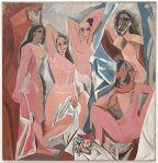 Les Demoiselles d'Avignon, by Picasso